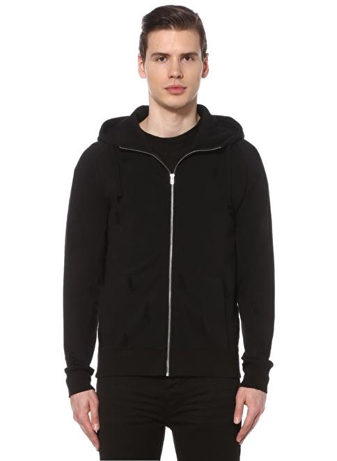 İro Sweatshirt Siyah